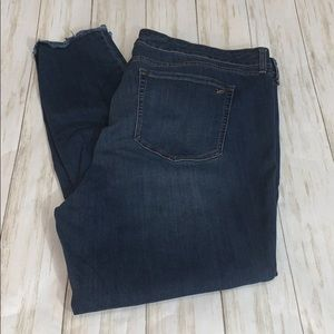 Size 22W William Rast Sculpted High Rise Jeans